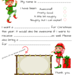 Blank Santa Letter Template Free - Calep.midnightpig.co throughout Blank Letter From Santa Template