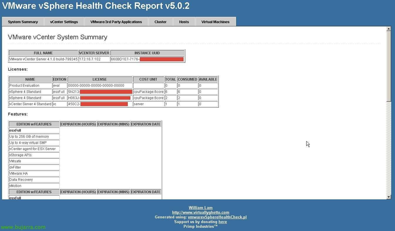 Vmware Vsphere Health Check Report | Blog Bujarra With Regard To Health Check Report Template
